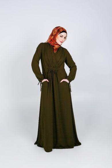 Front Wrap Abaya